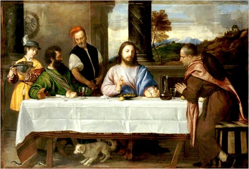 Titian, Supper at Emmaus 1533f.jpg